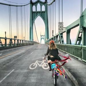 world naked bike ride st johns bridge
